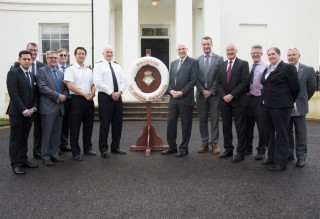 Visit of SRP Patron to the Institute of Naval Medicine
